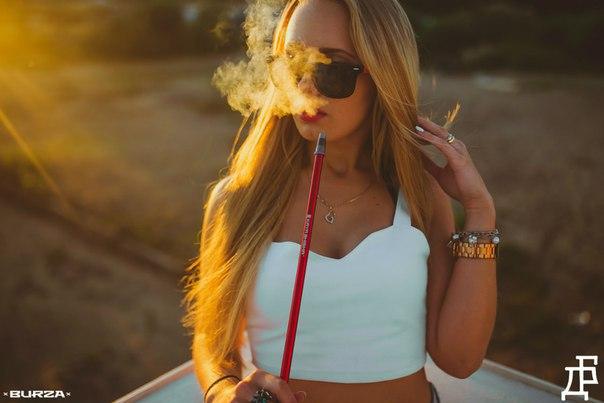 Курение кальяна на природе от Дымного Бро