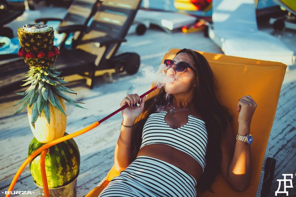Курение кальянов на летних площадках | Дымный Бро