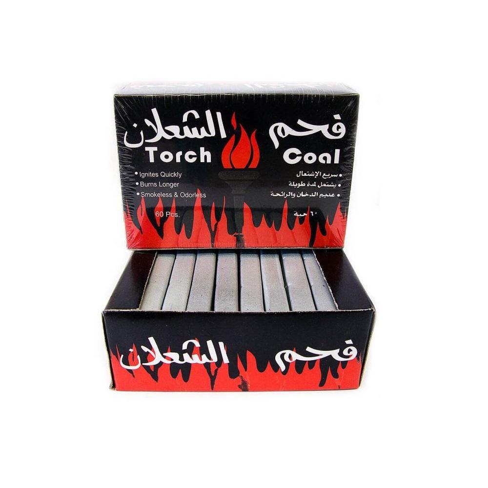 Древесный уголь для кальяна в брикетах | Дымный Бро